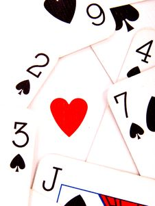 Free Heart And Spades Stock Photos - 14086233