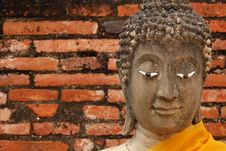 Free Buddha Image Head Royalty Free Stock Images - 14086659