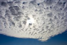 Free Cloudy Blue Sky Stock Images - 14088324