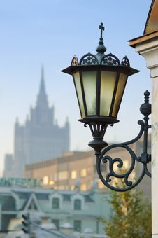 Free Wall Mount Street Lamp Stock Photo - 14088450