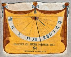 Free Sundial Royalty Free Stock Photo - 14088615