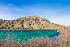 Kourna Lake Royalty Free Stock Photography