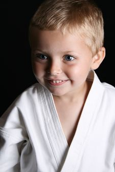 Free Karate Boy Stock Images - 14088674