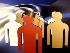 Educated Leader Icon Stock Images