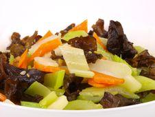 Freid Vegetables Royalty Free Stock Photography