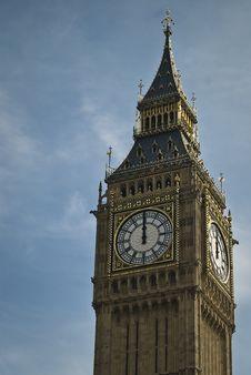 Free Big Ben Tower Stock Image - 14089811