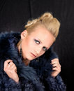 Free Girl In A Fur Coat Stock Photography - 14092222