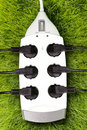 Free Outlet On Grass Stock Photography - 14094192
