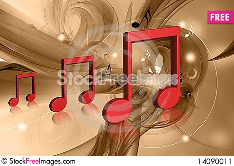 Free Musical Sign Stock Image - 14090011