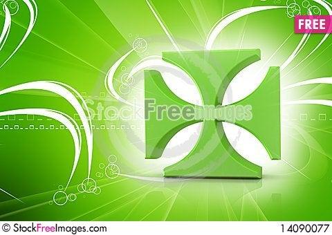 Free Religious  Symbol Royalty Free Stock Photography - 14090077
