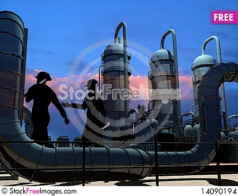 Free Industrial Structure Stock Images - 14090194