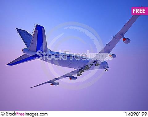 Free The  Plane Royalty Free Stock Images - 14090199