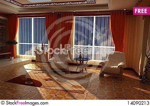 Free Interior Of Room Stock Photos - 14090213