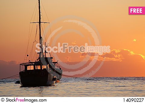 Free The Ancient Ship Royalty Free Stock Photography - 14090227