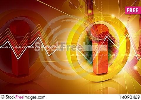 Free Warning Sign Royalty Free Stock Images - 14090469