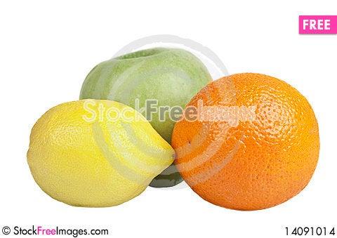 Free Apple, Lemon And Orange Stock Images - 14091014