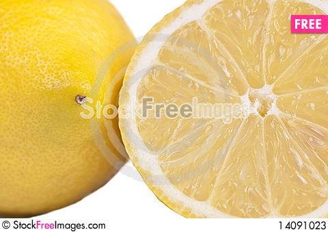 Free Close Up Of Lemons Stock Photos - 14091023