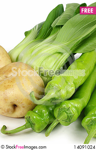 Free Set Of Different Vegetables Stock Images - 14091024