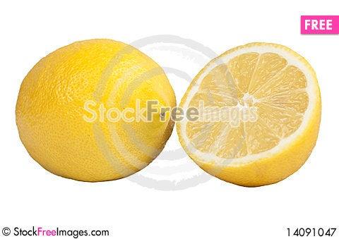 Free Fresh Lemons Royalty Free Stock Photography - 14091047