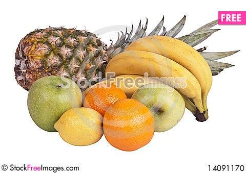 Free Variety Of Fruits Stock Photo - 14091170