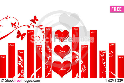 Free Love Symbol Royalty Free Stock Images - 14091339