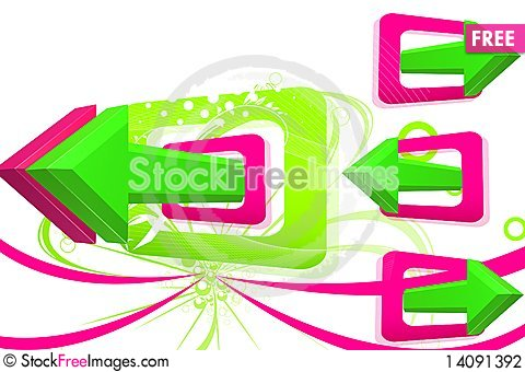 Free Arrows Stock Photography - 14091392