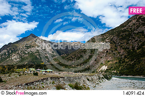 Free Scenery In Tibet Stock Images - 14091424