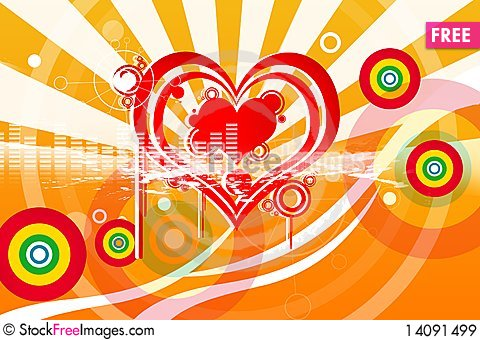 Free Love Symbol Royalty Free Stock Images - 14091499