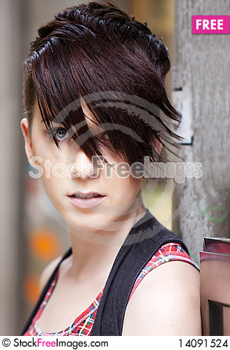 Free Modern Looking Girl Portrait Stock Images - 14091524
