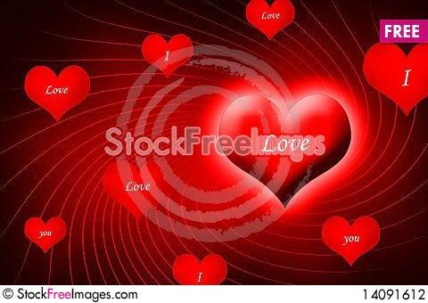 Free Love Symbol Stock Photography - 14091612