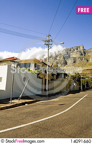 Free Street Scene In Cape Town, South Africa Stock Photo - 14091660
