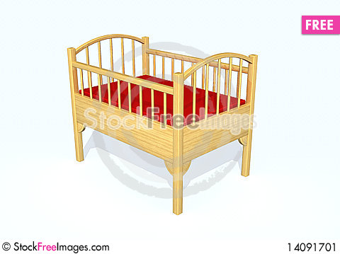 Free Bed Stock Image - 14091701