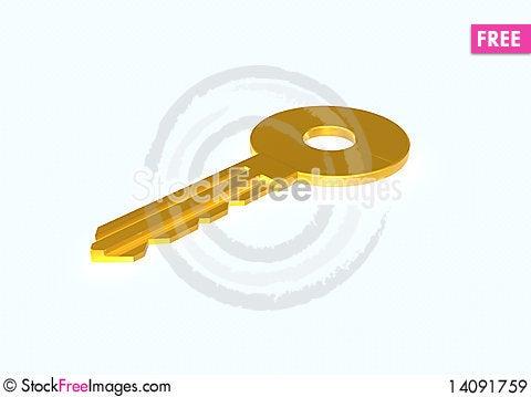Free Key Royalty Free Stock Images - 14091759