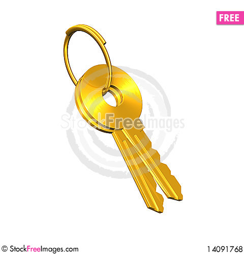 Free Key Royalty Free Stock Photos - 14091768