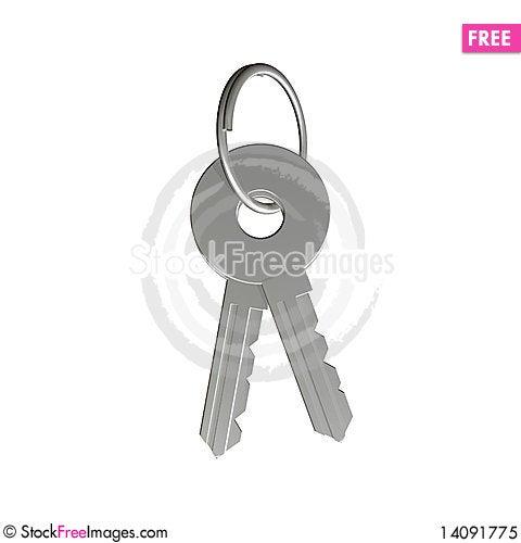Free Key Royalty Free Stock Photo - 14091775