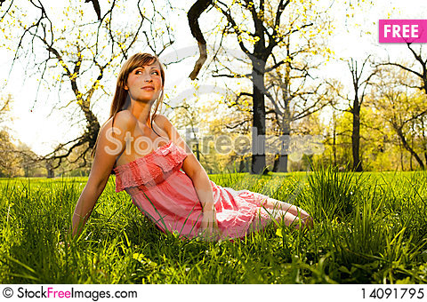 Free Parc Female Royalty Free Stock Photo - 14091795