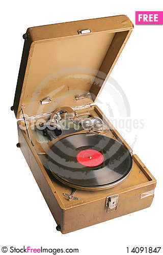 Free Vintage Russian Gramophone Royalty Free Stock Photography - 14091847