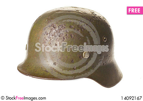 Free Old German Helmet World War . Royalty Free Stock Photography - 14092167