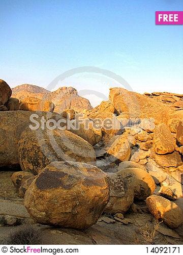 Free Erongo Mountains Stock Image - 14092171