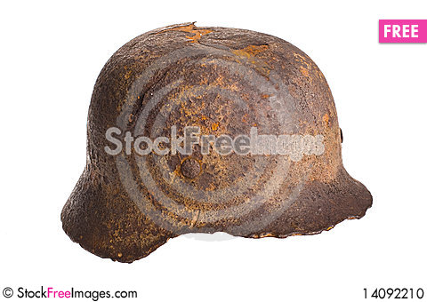 Free Old German Helmet World War . Stock Photo - 14092210