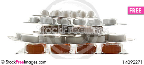 Free Packing Pills Stock Image - 14092271