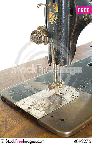 Free Sewing Machine Royalty Free Stock Image - 14092276
