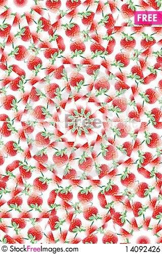 Free Strawberry Tile Royalty Free Stock Image - 14092426