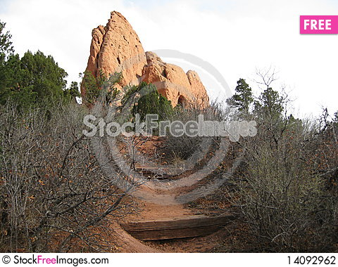 Free Garden Of The Gods Stock Photography - 14092962