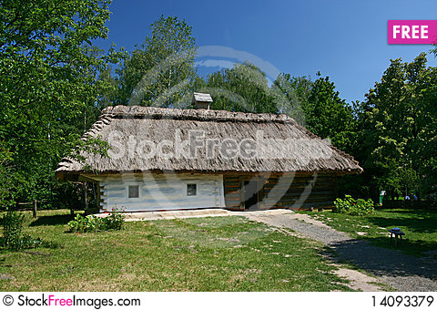Free House In The Village Royalty Free Stock Images - 14093379