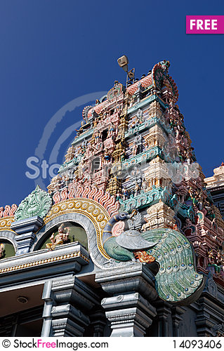 Free Temple Royalty Free Stock Image - 14093406