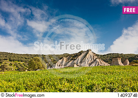 Free Komolithi Geological Phenomenon Royalty Free Stock Photos - 14093748
