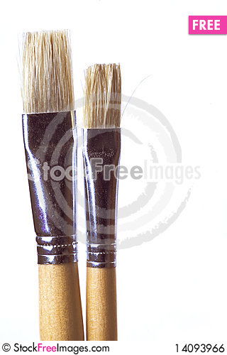 Free Brushes Royalty Free Stock Image - 14093966