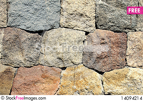 Free Stone Wall Details Stock Images - 14094214