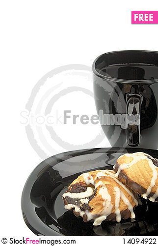 Free Cookies In Chocolate Stock Photography - 14094922